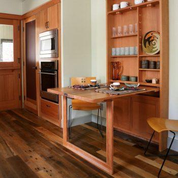 Những thiết kề bàn ăn thông minh cho nhà nhỏ vô cùng tiện ích
