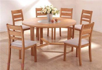 Những mẫu bàn ăn thông minh cho 8 người gấp gọn dễ sử dụng