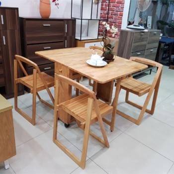 Những bộ bàn ăn thông minh 4 ghế dành cho gia đình nhỏ
