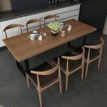 Nên sử dụng bàn ăn thông minh gỗ tự nhiên hay gỗ công nghiệp