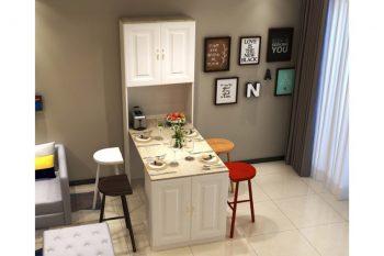 15+ mẫu bàn ăn thông minh cho bếp nhỏ thiết kế hiện đại
