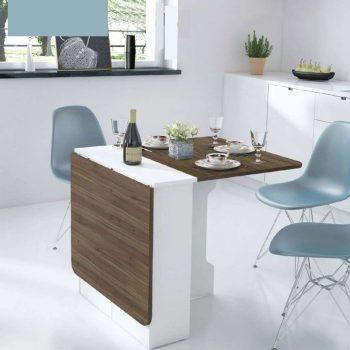 Những thiết kề bàn ăn thông minh cho nhà nhỏ nổi bật