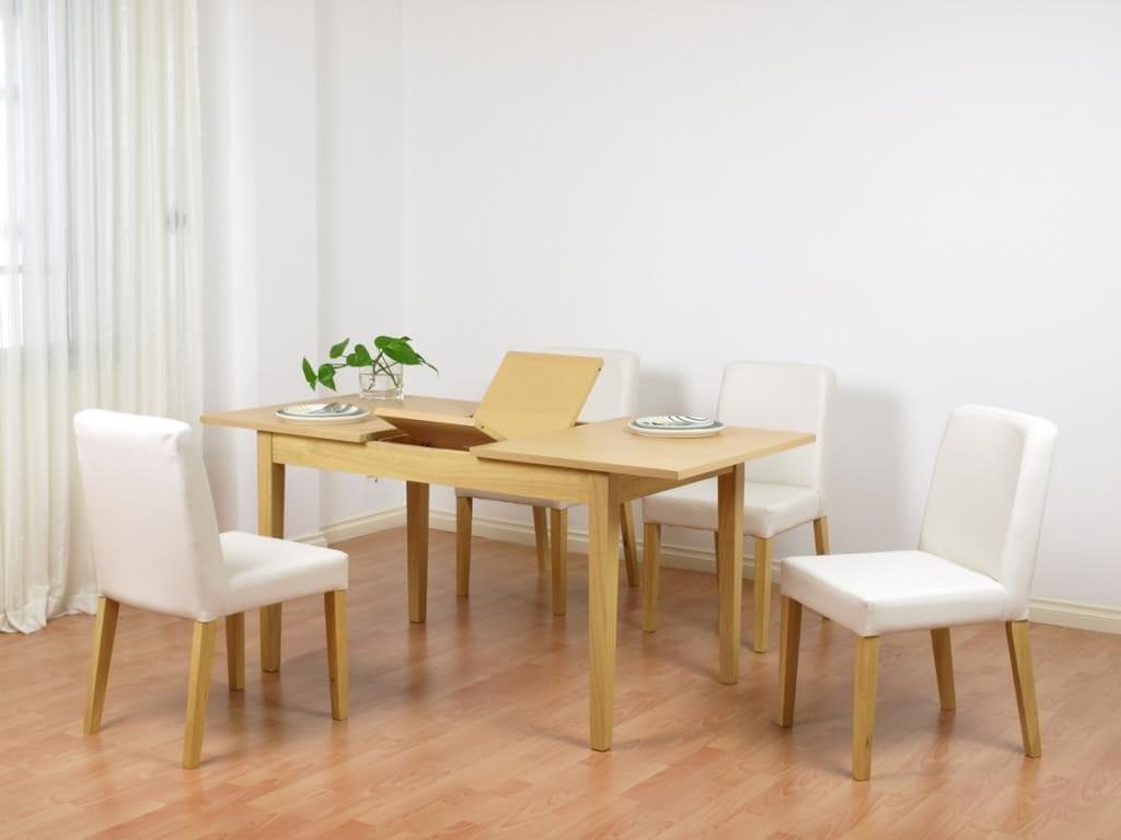 Thiết kế bàn ăn thông minh mở rộng