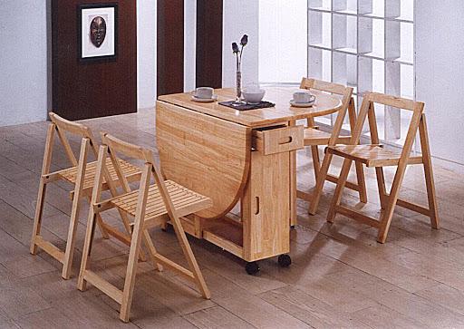 Đặc điểm bàn ăn thông minh gấp gọn là gì?