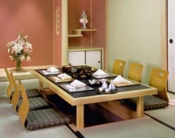 Mẫu bàn gỗ thông minh kiểu Nhật