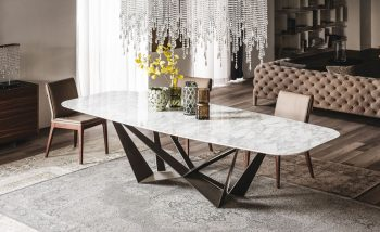 99+ Mẫu bàn ăn thông minh mặt đá sang trọng, thiết kế độc đáo